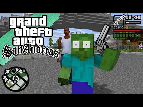 Monster School : GTA SAN ANDREAS CJ BECOME TEACHER - Minecraft Animation