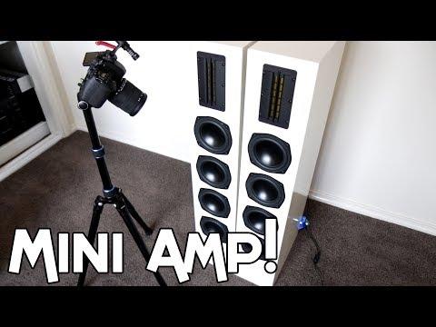 Kicker iPod Dock Amplifier VS Dayton Audio Speakers!