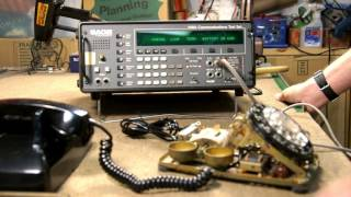 Sage 930A Testing Vintage Telephones