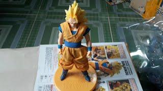 Đập hộp mô hình Son Goku Super Saiyan 3 D.O.D