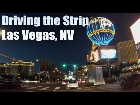 Driving on the Strip (POV) | Las Vegas | Tourism