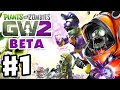 Plants vs. Zombies: Garden Warfare 2 Beta - Gameplay Part 1 - Backyard Battleground! (PvZGW2 Beta)