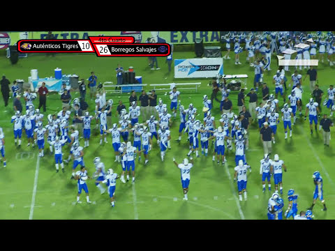 Highlights Scrimmage Autenticos Tigres UANL vs Borregos Tec MTY 16-Ago-2013