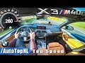 NEW! 2018 BMW X3 M40i TOP SPEED & ACCELERATION on AUTOBAHN by AutoTopNL