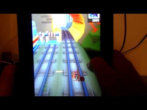 Subway Surf pe tableta (hack)