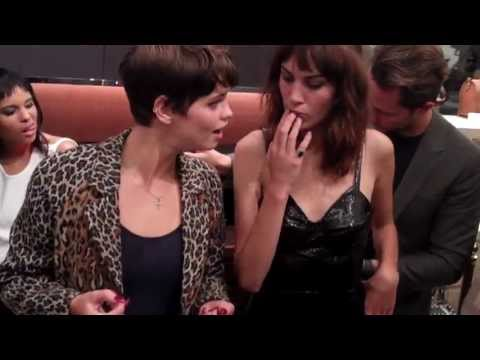 Pixie Geldof + Alexa Chung @ Longchamp Launch London Sept