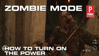 Call of Duty: WW2 - Zombies Mode How to Turn on the Power