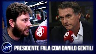 Fabio Porchat critica vídeo do Danilo Gentili e é respondido, Jair Bolsonaro fala sobre o caso