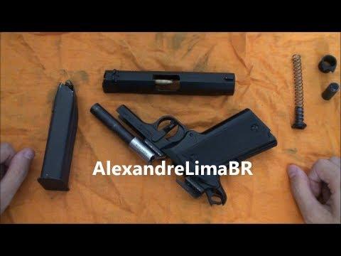 Como uma pistola (1911) funciona
