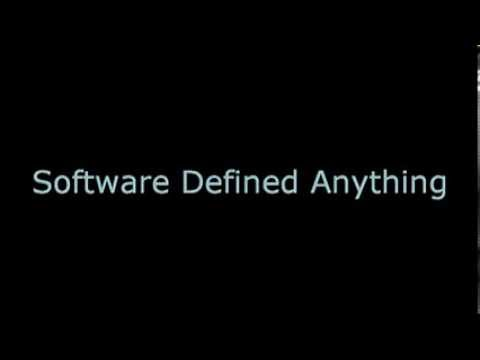 Software Defined Everything Software Defined