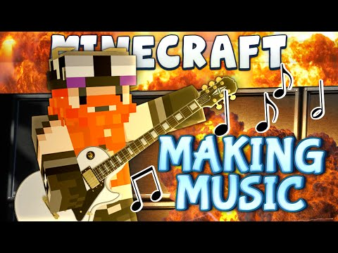 Minecraft - Back To The Future #1 - Making Music video