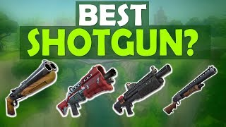 WHICH SHOTGUN SHOULD YOU USE? | HIGH KILL FUNNY GAME - (Fortnite Battle Royale)