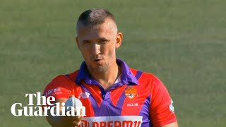 Pavel Florin: cricket's newest hero in action