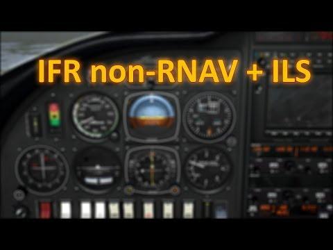 Porady - Lecimy IFR NRNAV + ILS