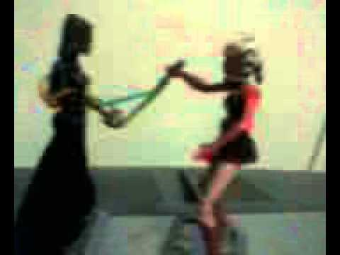 Ahsoka Tano Vs. Barriss Offee Stop-Motion