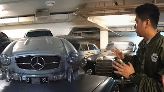 Mengintip Garasi Fantastis BJ Habibie, Koleksi Mobilnya Bikin Tertegun