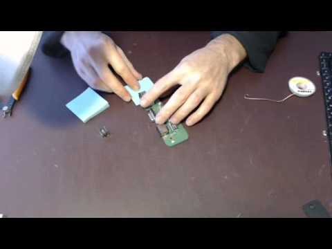 How to fix repair replace laptop dc power jack socket input port on Dell Inspiron 1545 pp41l