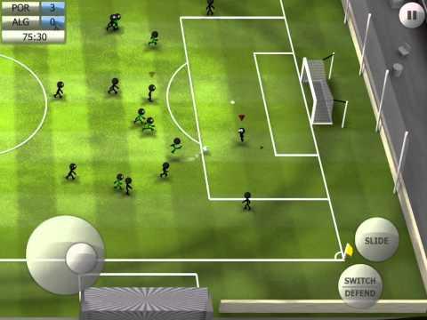 Stickman Soccer 2014 - Portugal 4 / Algeria 0