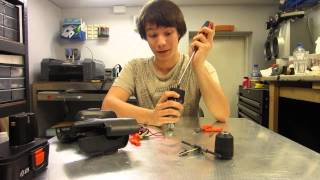 How to build a Combat Robot - Episode 1 Cordless Drill Hacking
