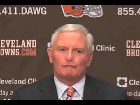 Reporter asks if the Browns are being run by the 3 Stooges