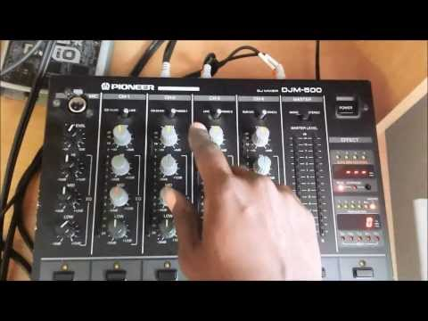 How to connect to a Pioneer DJM mixer by DJ Black Noise