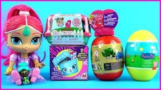 Unboxing Disney Toys Surprises Peppa Pig Surprises Shopkins 2 Pet Pod