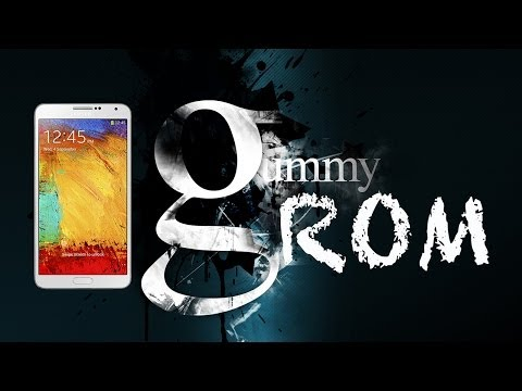 Galaxy Note 3: Gummy ROM Android 4.4.2
