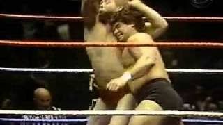 Bob Backlund vs. Don Muraco Pt.1