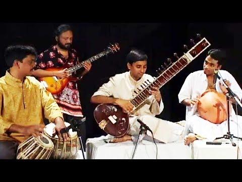Fusion Music - Flute, Sitar, Guitar, Ghatam & Tabla