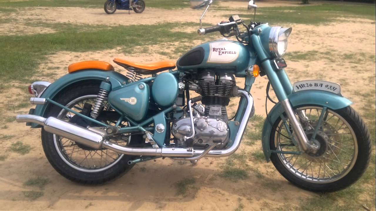 Royal Enfield Classic Chrome Modified Classic Royal Enfield