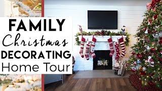 Family Christmas Decorating Home Tour   20