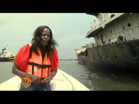 Nigeria's rusting shipwreck problem