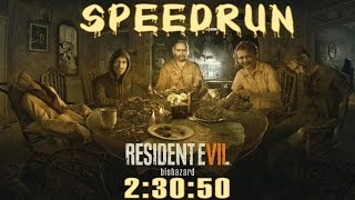 Resident Evil 7 Biohazard Speedrun (2:30:50) - Full Game Walkthrough