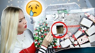 FAIL! LEERER ADVENTSKALENDER 🎄Geheimer AMAZON Überraschungs Adventskalender 2018 im Live Test!