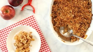 Easy-To-Make Apple Crisp - Everyday Food with Sarah Carey