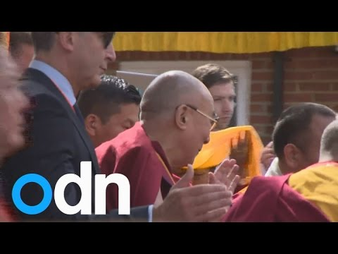 Dalai Lama opens Buddhist Community Centre amid protests