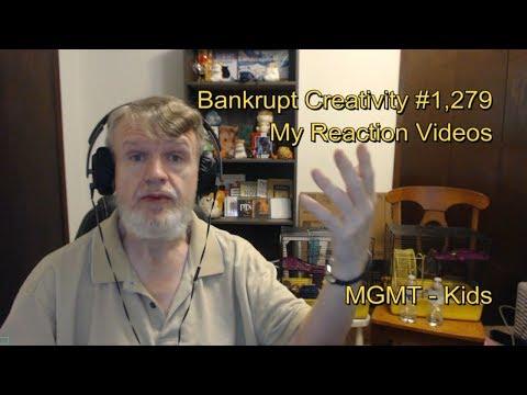 MGMT - Kids : Bankrupt Creativity #1,279 My Reaction Videos