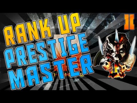 """RANK UP FAST in """"Black Ops 2""""! - Prestige Master Quickly!"""