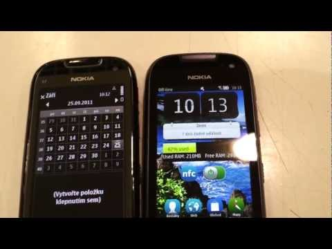 Nokia 701 vs C7 ( Browser . multitasking. video )
