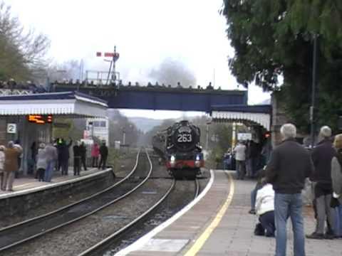 2 HELLFIRE steam tours through Abergavenny!! 26.11.11