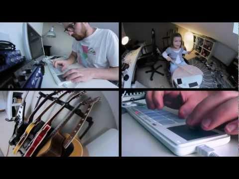 Fooling around on Korg NanoPad 2 (featuring Ninon)