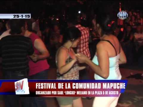 FESTIVAL DE LA COMUNIDAD MAPUCHE