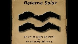 Revolucin Solar Para Acuario Ao 2013-2014. (horscopo Anual)