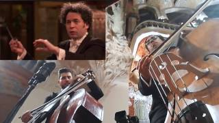 Freddy Adrian BEETHOVEN 5 - MOV. 3 - OSSBV - GUSTAVO DUDAMEL (DOUBLE BASS VIDEO)