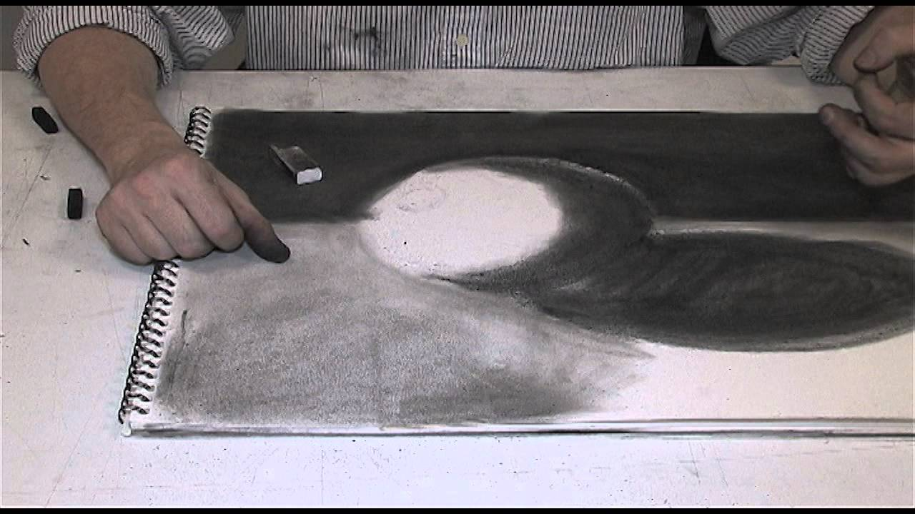 Chiaroscuro Drawing a Chiaroscuro Drawing.mpg
