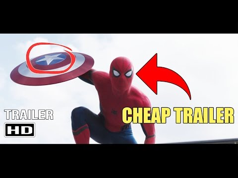 Captain America: Civil War - Trailer #2 (CHEAP TRAILER PARODY)
