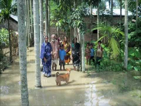 Badruddin Ajmal in Assam Flood