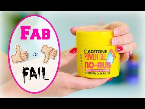 Nail-Aid NO-RUB Polish Remover Gel | Fab or Fail