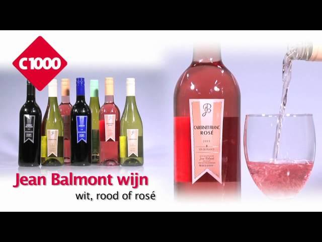 Aanbieding C1000 week 23 | Jean Balmont wijn | wit, rood of Rosé