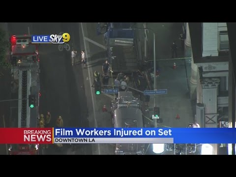 2 Workers Hurt In On-Set Accident Filming Accident Downtown Los Angeles